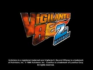 Screenshot Thumbnail / Media File 1 for Vigilante 8 - 2nd Offense [U]